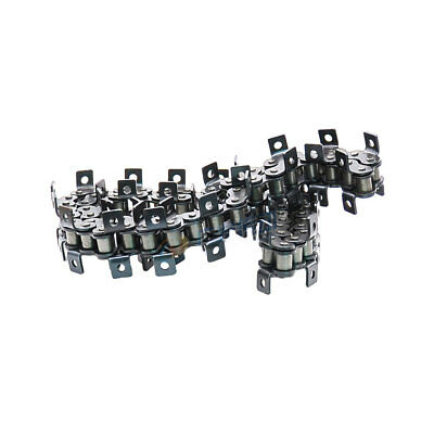 "#80 K-1 Roller Chain With Both Side Bent Ear Pitch 1"" 16A-1 Roller Chain * 1.5M"