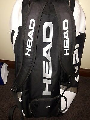 Head Limited Ed- Signed Novak Djokovic  Tennis Racquet Racket Bag- 12 RACQUETS