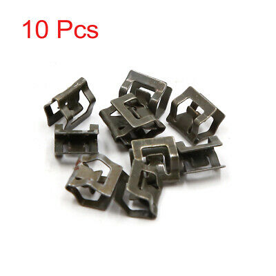 10Pcs 7mm Hole Metal Rivets Car Interior Dashboard Panel Trim Clips Retainer