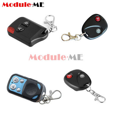315/433Mhz 2/4 Key RF Wireless Remote Control Transmitter For Garage Gate Door