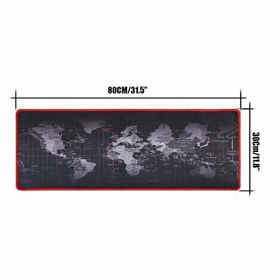 800*300*2MM Gaming Mousepad Large Size World Map Speed Game Mouse Pad Mat Laptop