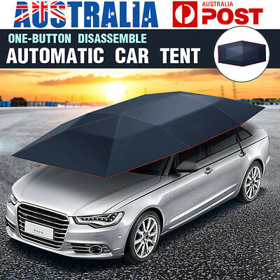 Automatic Car Umbrella Roof Cover Tent UV Protection Waterproof Remote Control