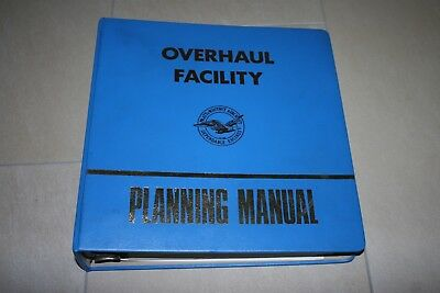 Overhaul Facility Planning manuel 1971 united aircraft of canada