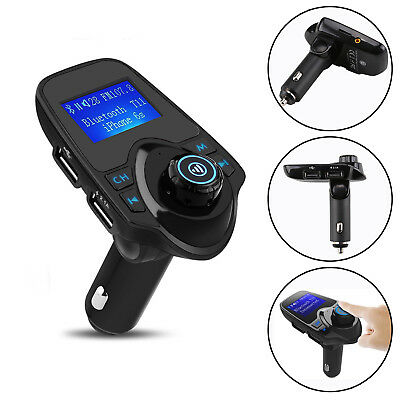 Bluetooth FM Transmitter MP3 Player Auto Freisprechanlage Car USB SD AUX NEU