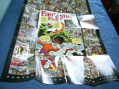 Rittenhouse 2008 Fantastic Four Case Topper Poster