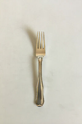 Georg Jensen Old Danish Sterling Silver Dinner Fork No 002