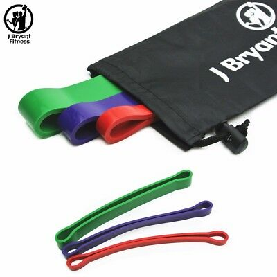 Fitness Loop Bands Set, 3 Level CrossFit Power Rubber Bands, Exercise Equipment
