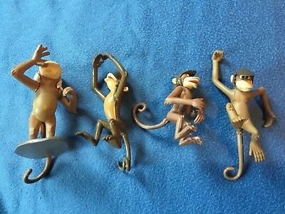 Disney Store Jungle Book Figures Monkeys