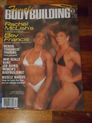 MASS MUSCLE MAGAZINE bodybuilding female wrestling /Carla Nelen 6-93