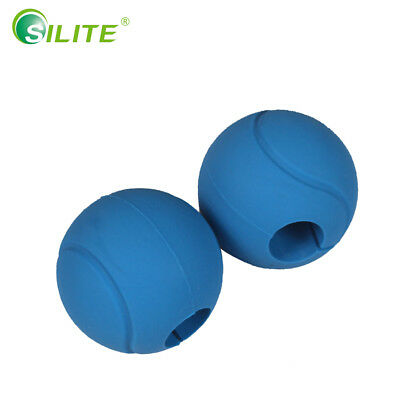 2-piece Silicone Dumbbell Grips, Thick Bar Ball Grips, Good Grip For Dumb Bells