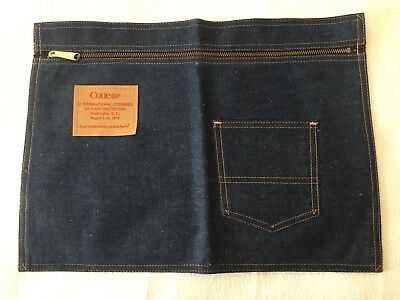 Cone Mills Denim Pouch 9th Congress Of Plant Protection Washington DC 1979  B117