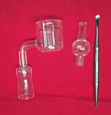 Thermal Banger w/ Rotational Carb Cap +Tool Kit - Male/female - 14mm/18MM