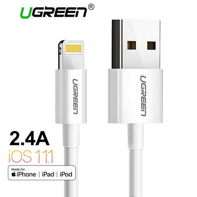 Ugreen MFi Lightning to USB Cable for iPhone Fast Charging USB Data Cable iPhone