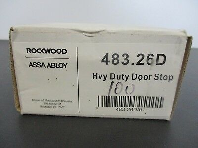 ROCKWOOD Heavy Duty  Door Stop 483  US26D / 626 - Assa Abloy