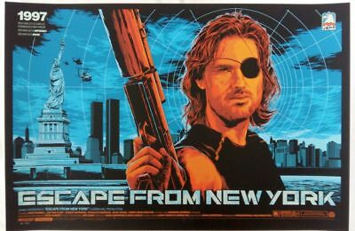 "Ken Taylor, Escape from NY, Regular AP 24""x36"" AP#/52"