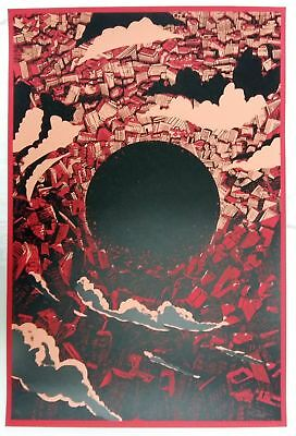 "Raid71, The Beginning – Akira, 24""x36"" #/40 signed"