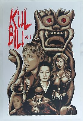 "Steven Holliday, Kill Bill Vol.1 20""x30"" #/100"