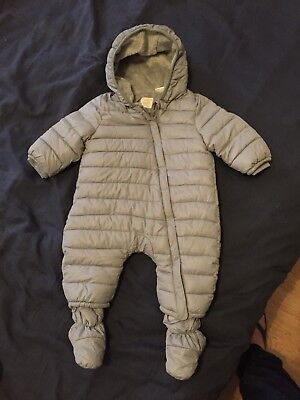 786dec4fa BABY BOYS OR Girls Neutral Unisex Zara Mini Snowsuit 3-6 Months ...