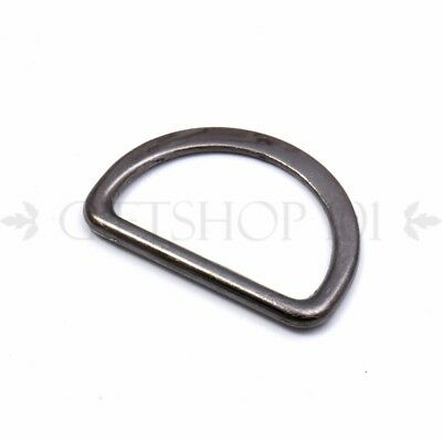 10pcs Dee Rings Metal D-Ring Buckle 25mm Webbing Strapping Adjustable Paracord