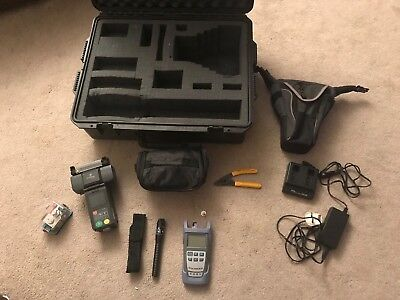 Fitel S121A fibre optic fusion splicer Perfect MM & SM Hardly Used + Cleaver Etc