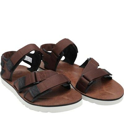 c42f2959029e QULAITY TIMBERLAND MEN S Brown Leather Sandal size uk 10 - £21.00 ...