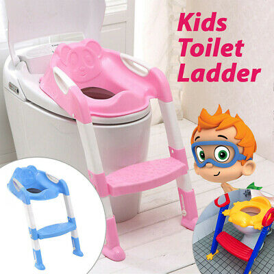 Kids Training Potty Toilet Safety Baby Trainer Toddler Cute Cartoon Seat Chair