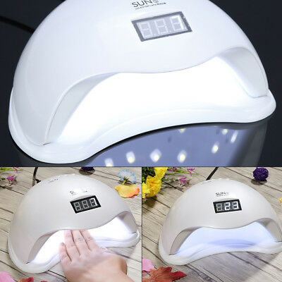 2018 48W SUN5 LED UV Nail Lamp Light Gel Polish Cure Nail Dryer UV Lamp zy12