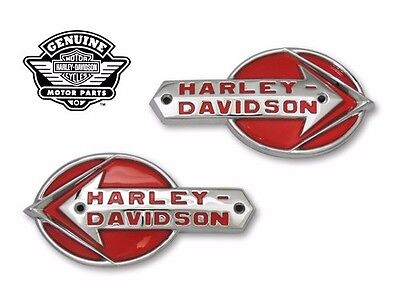 Harley Davidson Replica Gas Tank Emblems 1 set 1959-60 without base plate