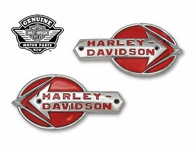 FREE SHIP Harley Davidson Replica Gas Tank Emblems & Mount Stripes set 1959-60