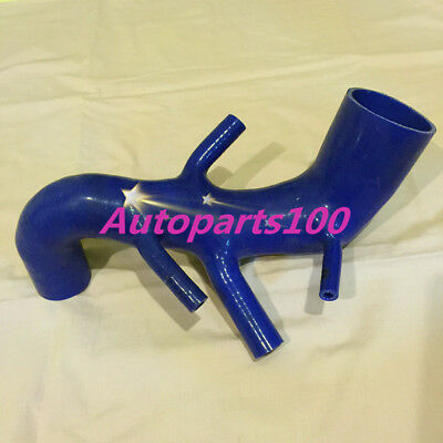 FOR AUDI TT 225 S3 SEAT LEON R TURBO INTERCOOLER Induction Intake Pipe HOSE BLUE