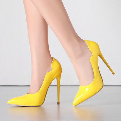 Womens Sexy Stiletto High Heel Pointed Toe Pumps Party Shoes AU Size 2.5-12