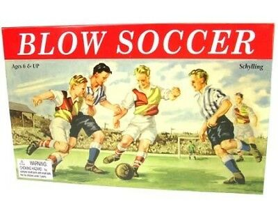 Schylling Blow Soccer Game