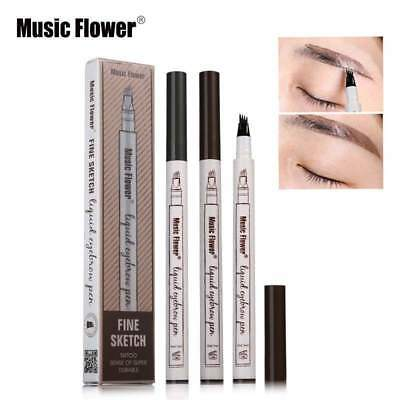 Stylo Crayon à Sourcils EyeBrow Waterproof EyeLiner Maquillage yeux Micro Tattoo