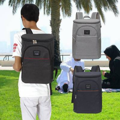 20L Insulated Cooling Backpack Picnic Camping Rucksack Beach Ice Cooler Bag UK