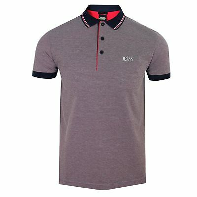 Mens hugo boss paddy pro modern fit short sleeve polo for Hugo boss polo shirts xxl