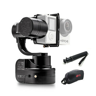Zhiyun Z1 Rider-M 3 Axis GoPro Gimbal Stabilizer w/ Extension Stick + Bag