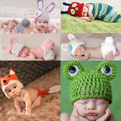 1pc Photography  Costumes Outfits  Newborn Baby Knit Photography
