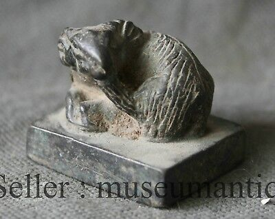 Old Chinese Ancient Bronze Animal Mouse  Dynasty imperial Seal Stamp Signet