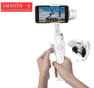 Zhiyun Smooth 4 BK/WH 3-Axis Handheld Gimbal Stabilizer for Smartphones Camera