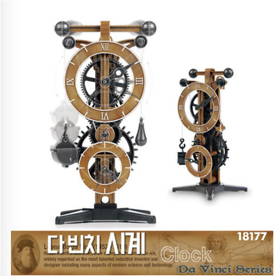 Academy #18150A Da Vinci Machines Series Clock Plastic Model Kit