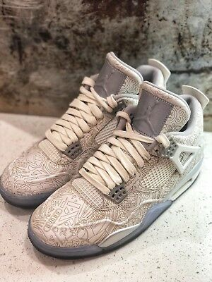 "new product a4fc8 a248a Air Jordan 4 IV Retro ""Laser"" 30TH Anniversary Size 8"