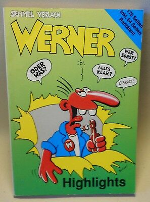 Brösel Comics WERNER HIGHLIGHTS Comic Buch Semmel Verlach
