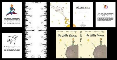 1:12 Scale Miniature Book The Little Prince Illustrated Dollhouse