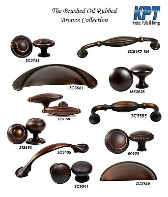 KPT Brush Oil Rubbed Bronze Knob and Pull Collection Drawer Cabinet Furniture