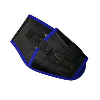 Electric Drill Holder Waist Tools Bag Electrician Storage Pocket Pouch Blue