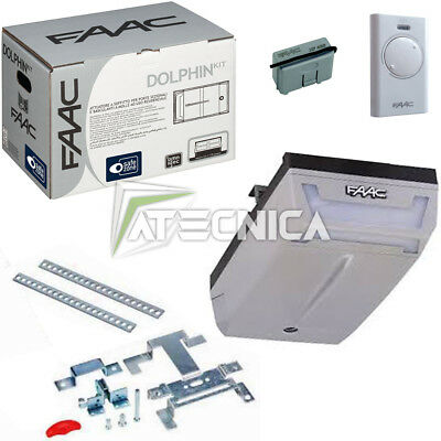 Automation for overhead garage sectional doors FAAC DOLPHIN KIT 10566544 engine
