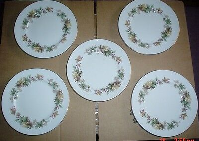 Royal Standard Fine China LYNDALE Side Plates x 5 1950's?