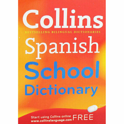 Spanish Pocket School Dictionary by Harper Collins UK (Paperback), Books, New