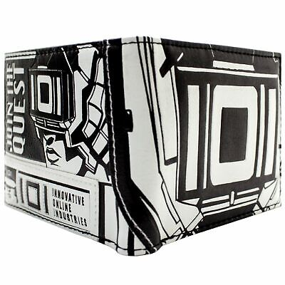 New Official Ready Player One Parzival Vr Headset Ioi Id & Card Bi-Fold Wallet