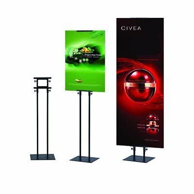 HUAZI Poster Stand Banner Stand for Board Sign,Height Adjustable up to Stand
